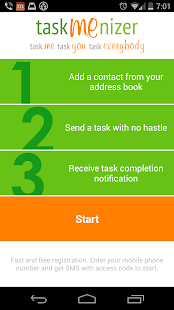 Taskmenizer: Team task manager- screenshot thumbnail