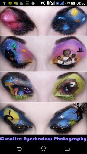 Creative Eyeshadow Photography