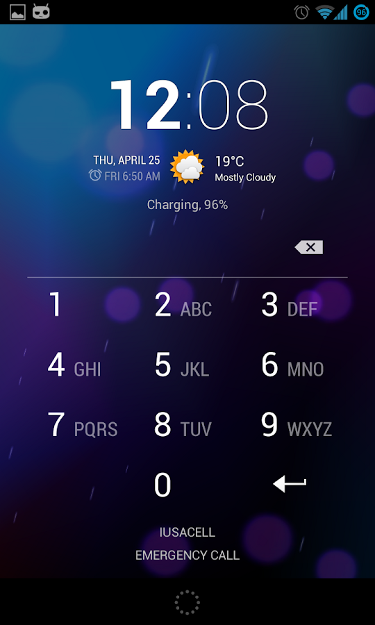 Smart Lockscreen protector - screenshot