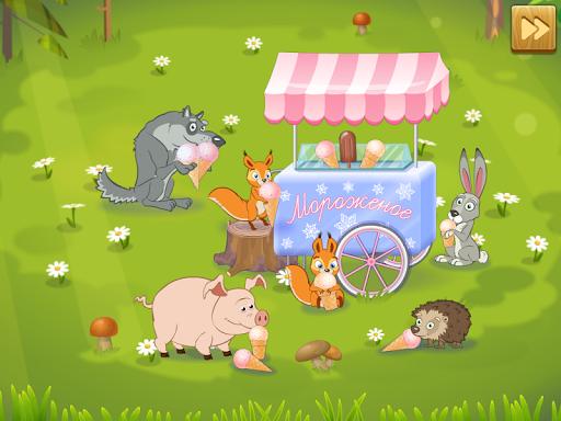 Маша и Медведь: Мороженое для планшетов на Android