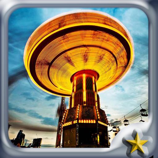 游乐园主题 個人化 App LOGO-硬是要APP