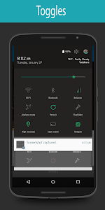 Minimal Line Style CM12 theme v1.5