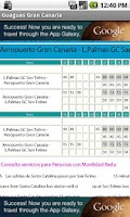 Screenshot of Horario Guaguas Gran Canaria