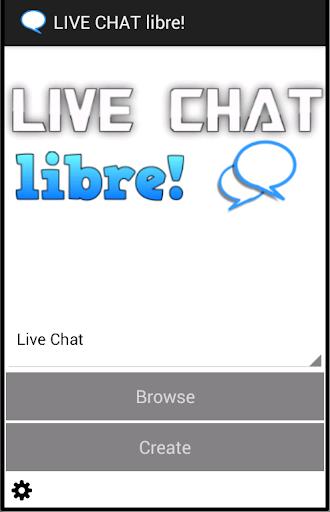 LIVE CHAT libre