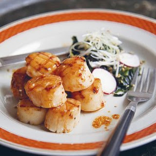 Grilled Scallops.