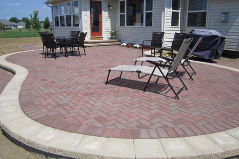 patio layout hertfordshire