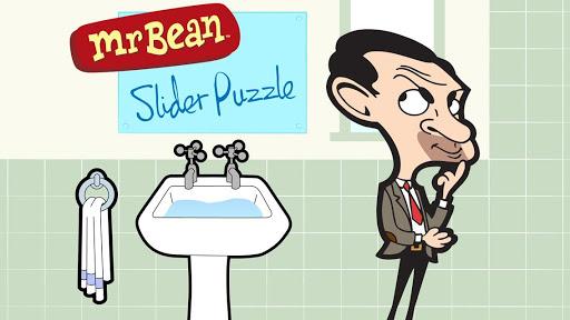 Mr Bean Slider Puzzle Lite