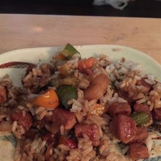 Honey Pork with Peppers
