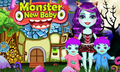 New Monster Mommy Cute Baby
