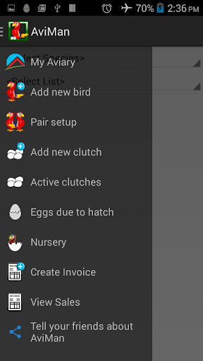 AviMan: Aviary Management App