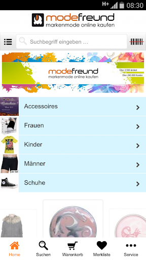 【免費購物App】Modefreund Mobile Shop-APP點子