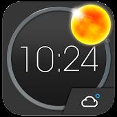 MotoBlur style Atrix Clock HD