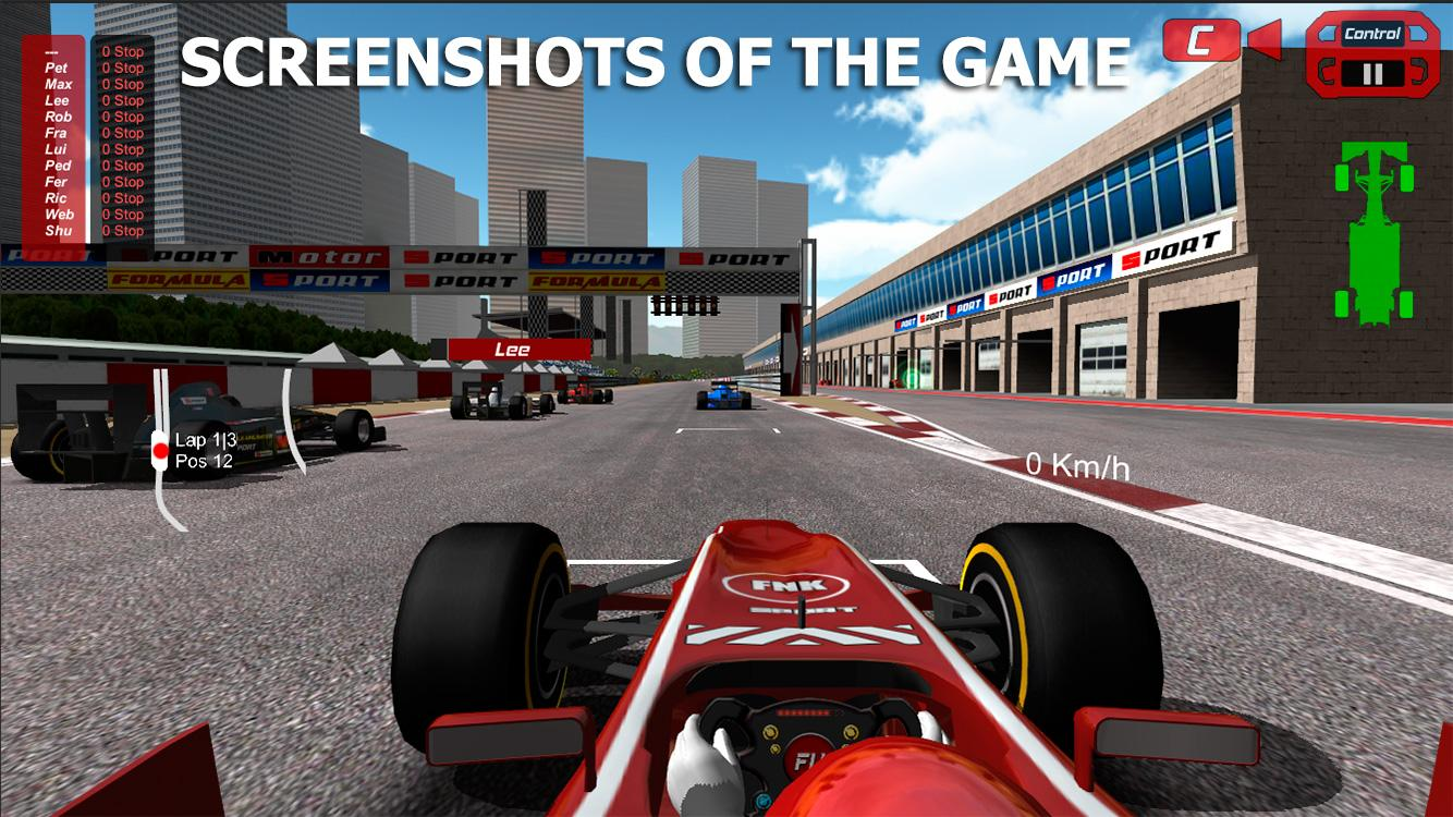 Formula Unlimited PRO - screenshot