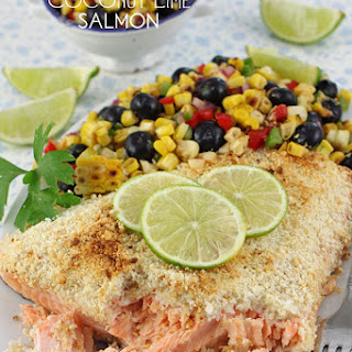 Coconut Lime Salmon.