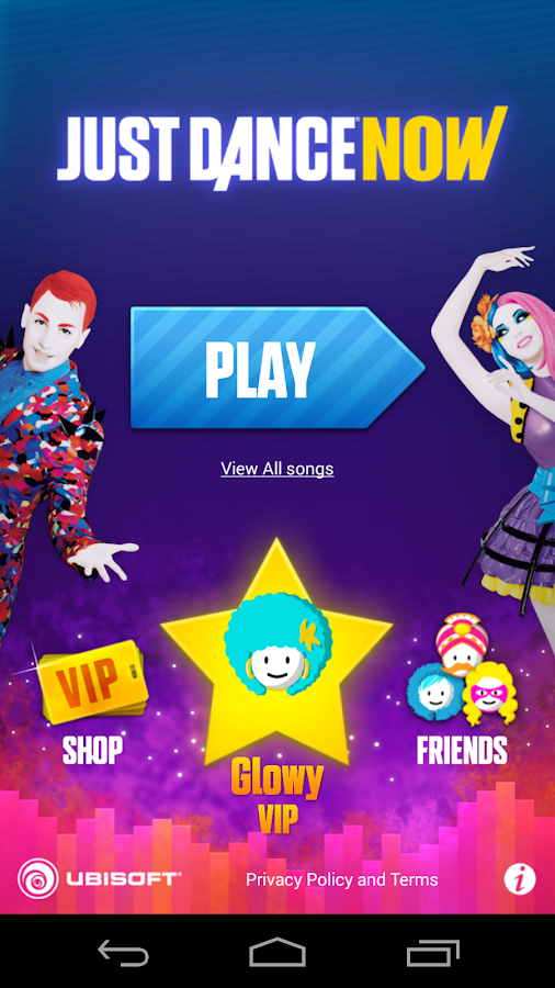 Screenshots of Just Dance Now for iPhone