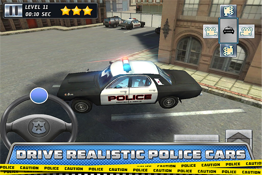 Police Parking Grand Theft Car