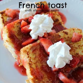 Angel Food Cake French Toast.