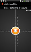 Screenshot of miidio Noise Meter