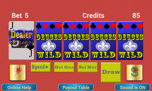 【免費博奕App】TouchPlay Deuces Wild Poker-APP點子