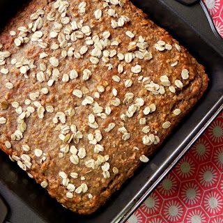Banana & Oat Breakfast Cake