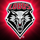 New Mexico Lobos Live Clock