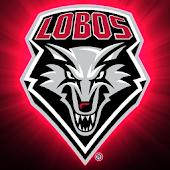 New Mexico Lobos Live Clock