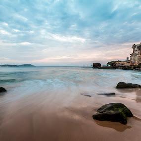 Terrigal, NSW, Australia by Mel Stratton - Landscapes Beaches ( water, sand, terrigal, beach, sunrise,  )