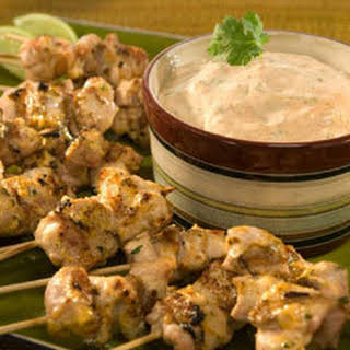 Chipotle-lime Chicken Skewers.