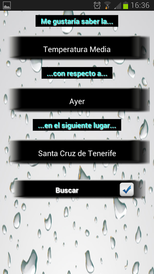 Info Lluvia - screenshot