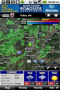 KTUL WX - screenshot thumbnail