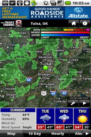 KTUL WX - screenshot
