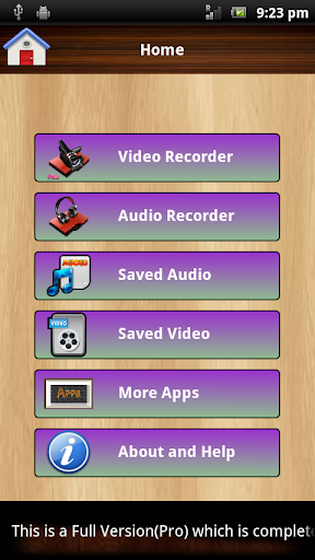 Audio and Video Recorder Pro