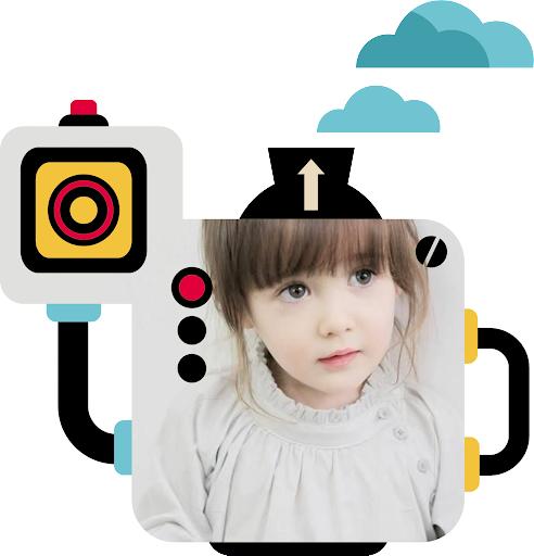 机器人相框