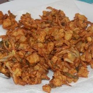 Pakoras With Mint Chutney