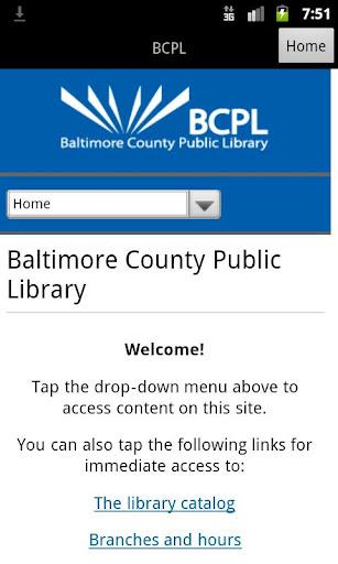 Baltimore County Public Librar