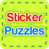 Sticker Puzzles for Kids
