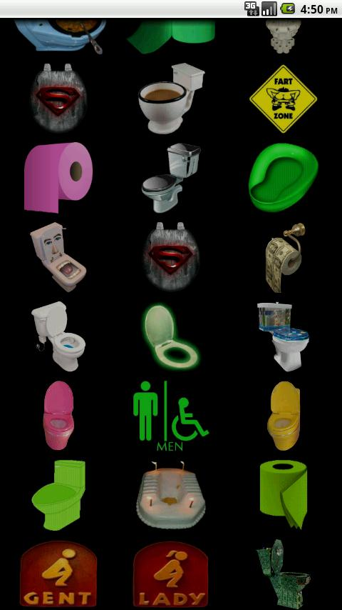 Toilet SoundBoard - screenshot
