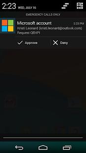 Microsoft account - screenshot thumbnail