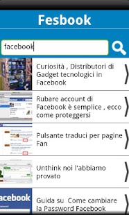 Fesbook Blog- screenshot thumbnail