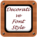 Decorative Font Style icon