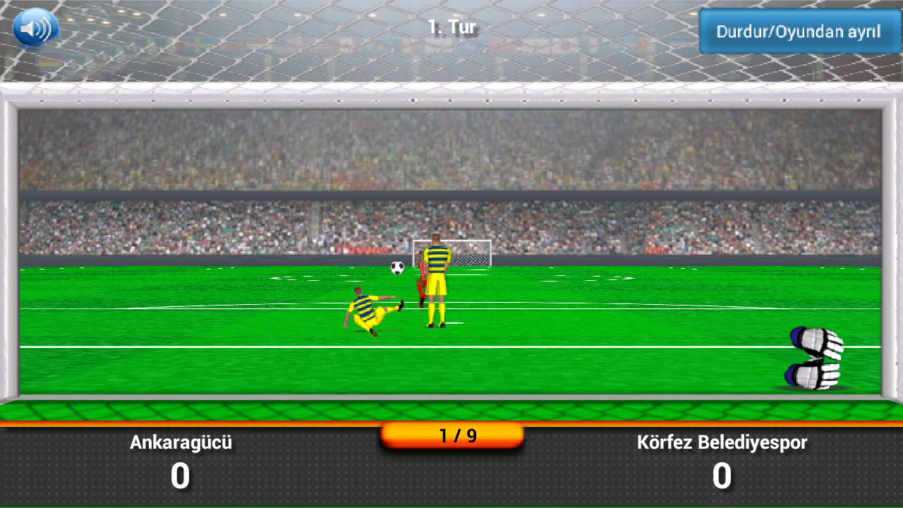 Süper Futbol Penaltı - screenshot