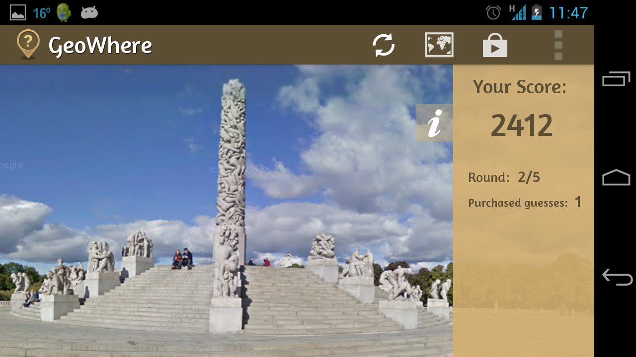 GeoGuessr - Android Game! - screenshot