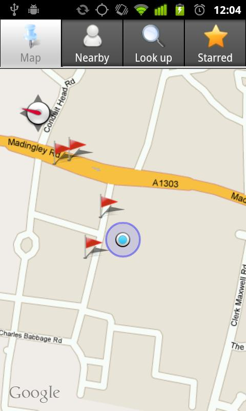 miniBus - Live bus data- screenshot