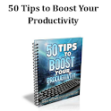 50 TipstoBoostYourProductivity icon