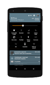 Black MTRL BlueGrey CM12 Theme v1.2