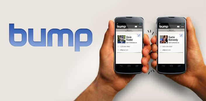 Bump для Android - альтернативный способ передачи файлов между девайсами