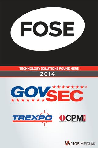 FOSE GovSec 2014