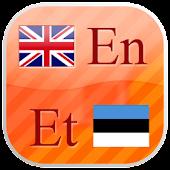 English - Estonian flashcards