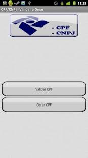 CPF/CNPJ Validar e Gerar- screenshot
