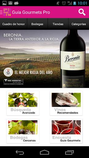 Guía Vinos Gourmets 2014 Pro